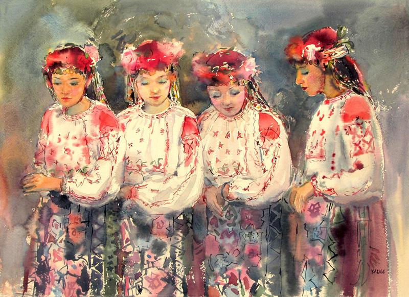 Bulgarian girls by kalinatoneva