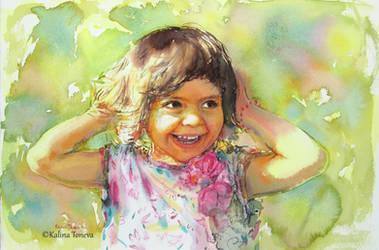 Happiness by kalinatoneva