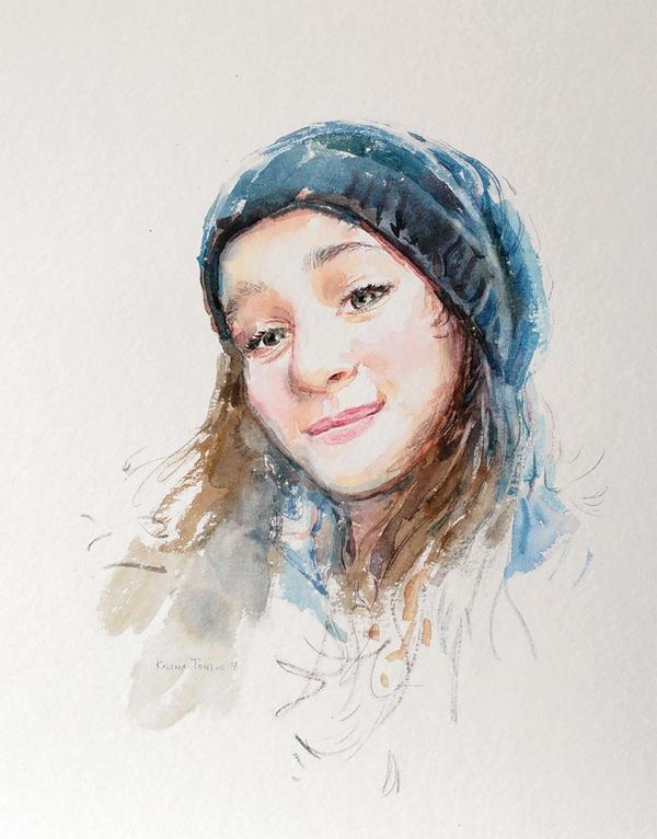 Smile by kalinatoneva