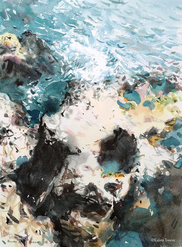Sea by kalinatoneva