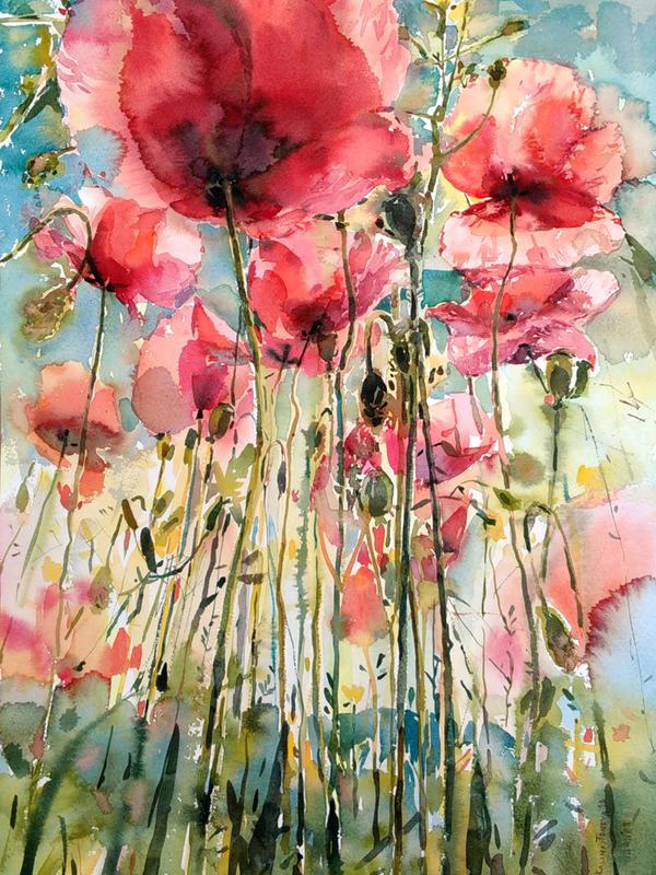 Poppies by kalinatoneva