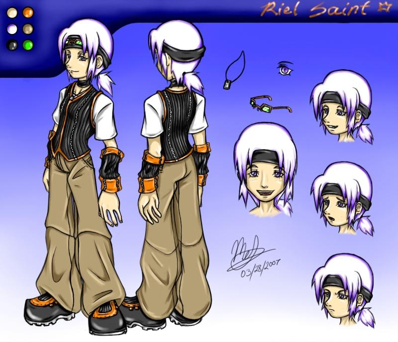 KH Fanfic: Riel Concept Art by anime-arteest on DeviantArt
