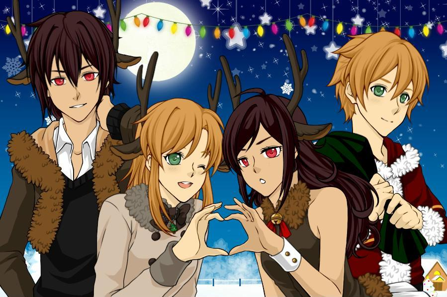 Holiday Dress Up Game [OCs] By FlameRiverAlchemist On