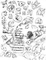 Rat Sketch Practice 6 by nEVEr-mor