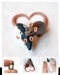 Little Love Dime Rats ~ Bimisi Commission