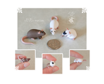 A Trio of Dime Rats ~ Kaley Commission