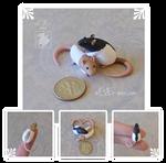 Dime Rat Cuddles ~ Rai Commission