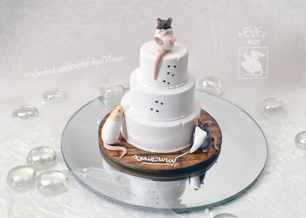Wedding Cake by nEVEr-mor