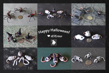 Halloween Dime Rats by nEVEr-mor