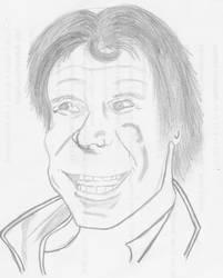 Trollin Han Sketch in Pencil by dracodarkarma