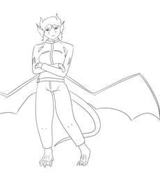 Dragoness Biker outfit by dracodarkarma