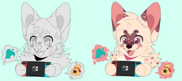 Playing Animal Crossing YCH - [Open]