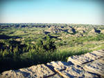 Badlands by evelynrosalia