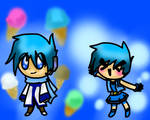Vocaloid - Kaito and PPGZ