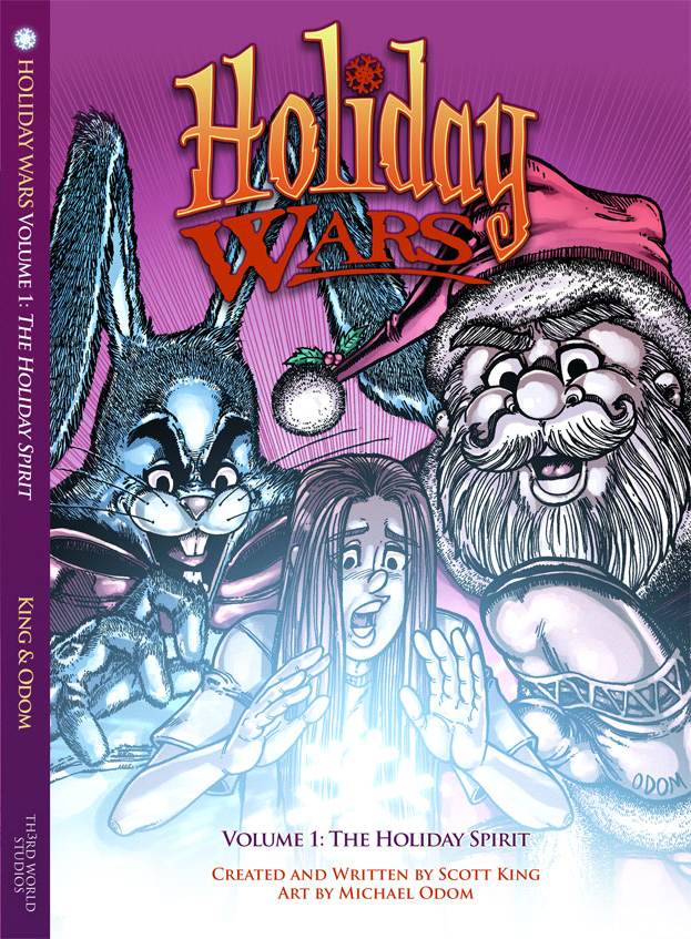 Holiday Wars: The Holiday Spirit by MichaelOdomArt