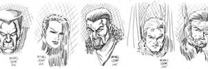 Daily Doodles X-Men 2