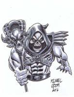 Skeletor by MichaelOdomArt