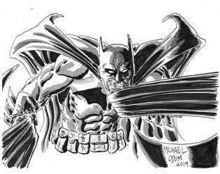 Batman by MichaelOdomArt