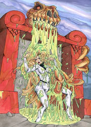 Godiva in the Slime Pit by fischgeist