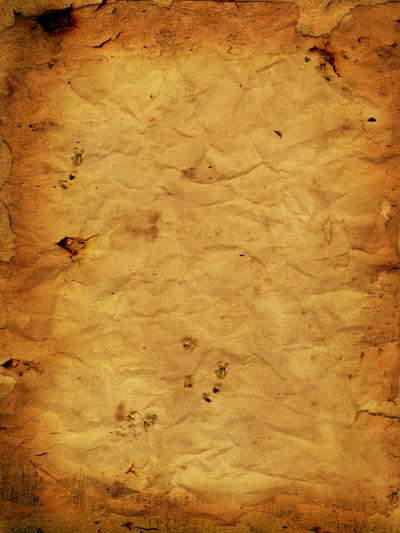 Coffee stained burnt crumpled paper - Texture by SilvieT ...