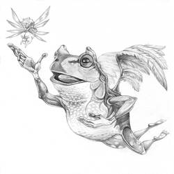 Feeling Froggy by bookstoresue