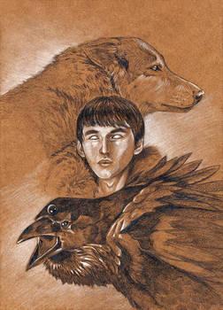 Bran PopCon Card Art