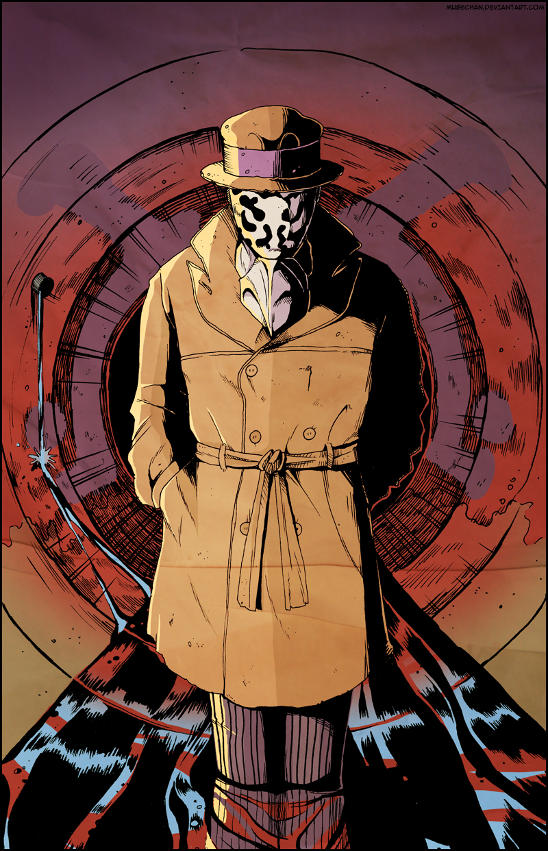 Rorschach by musechan