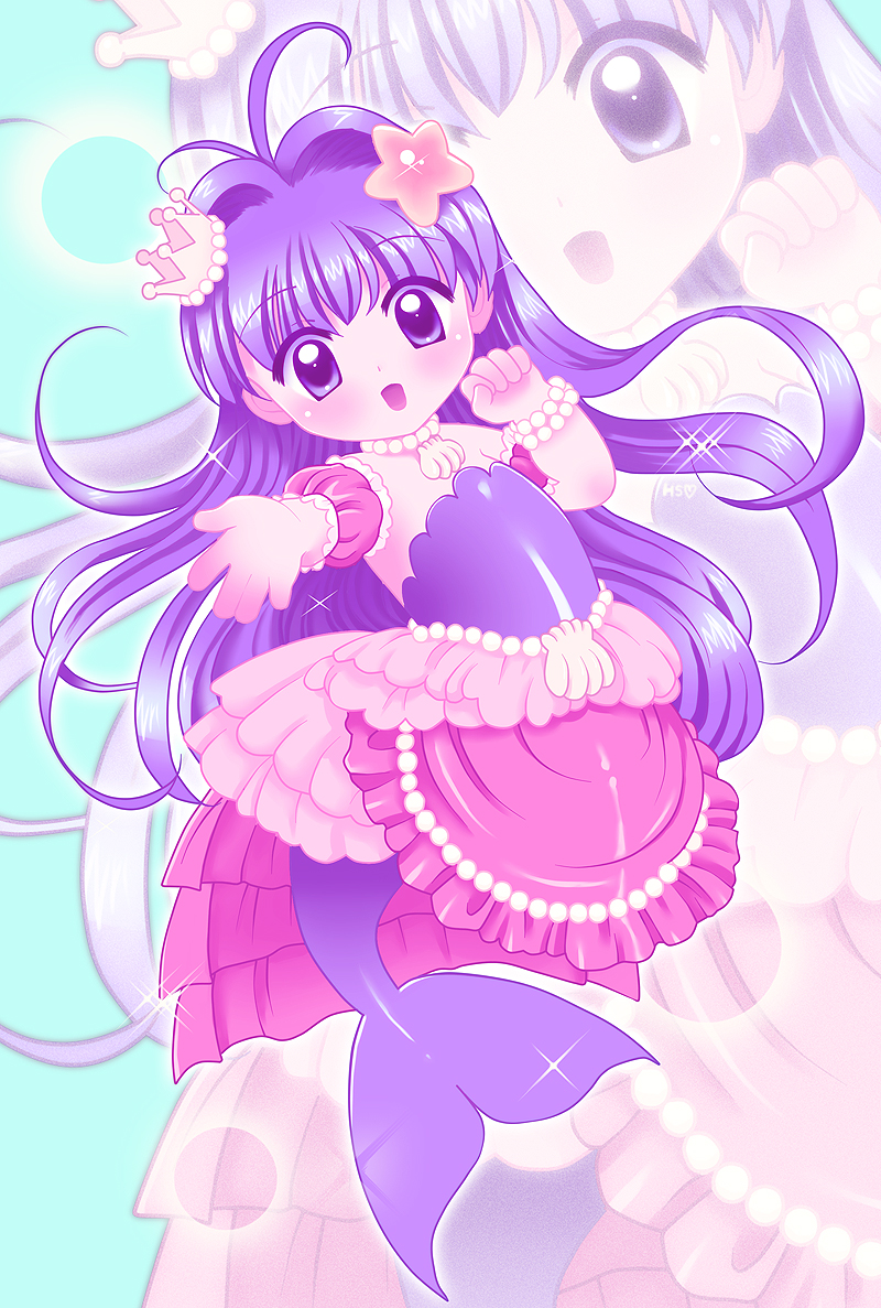 Cure Mermaid - Princess of the sea by Mero-chi on DeviantArt  Manga Mermaid Princess