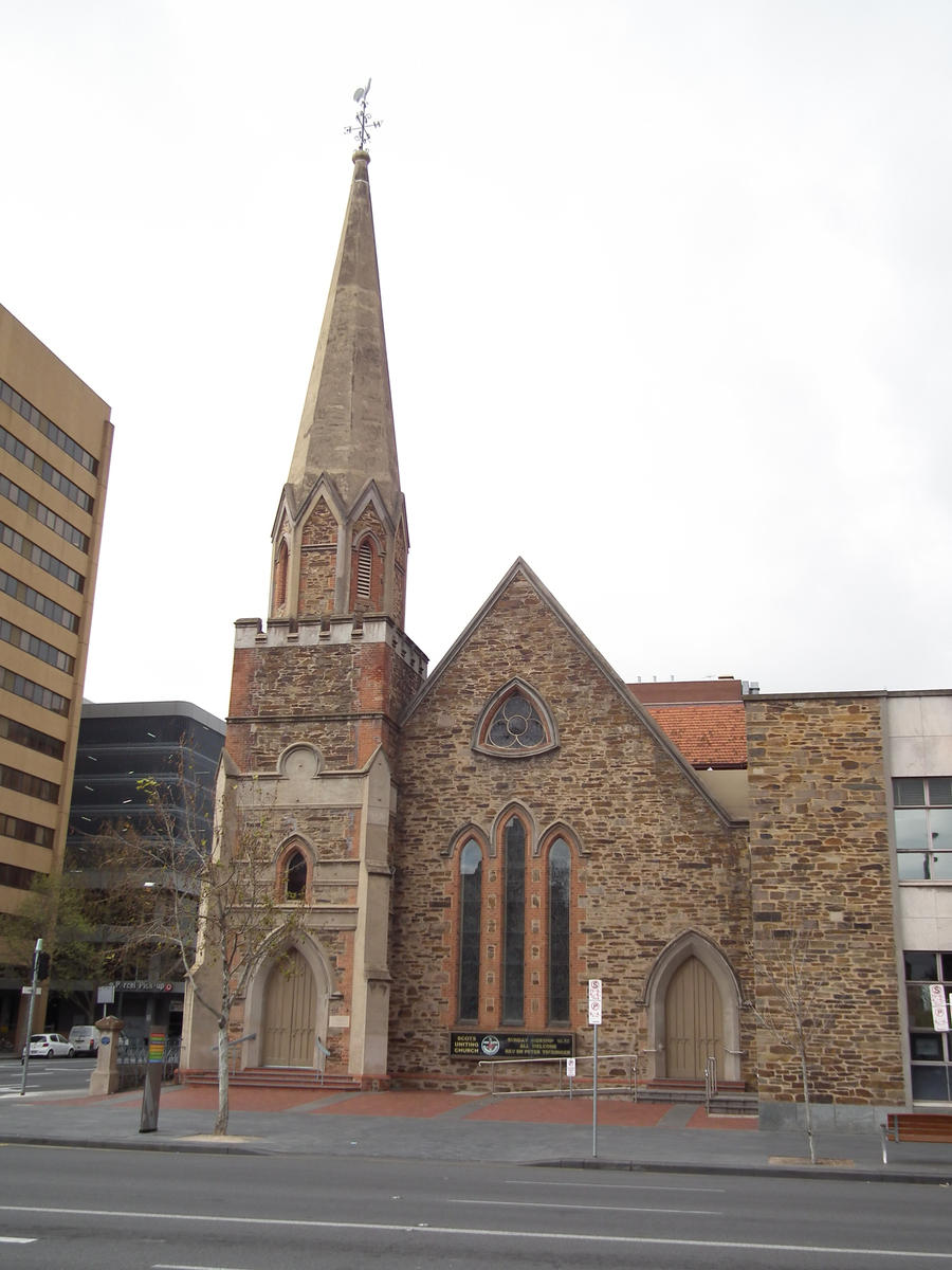 Scots uniting church by brendanr85 for 227 north terrace adelaide