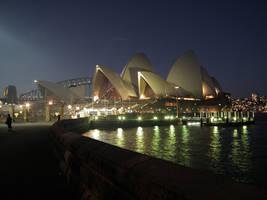 Sydney Opera House by night by BrendanR85