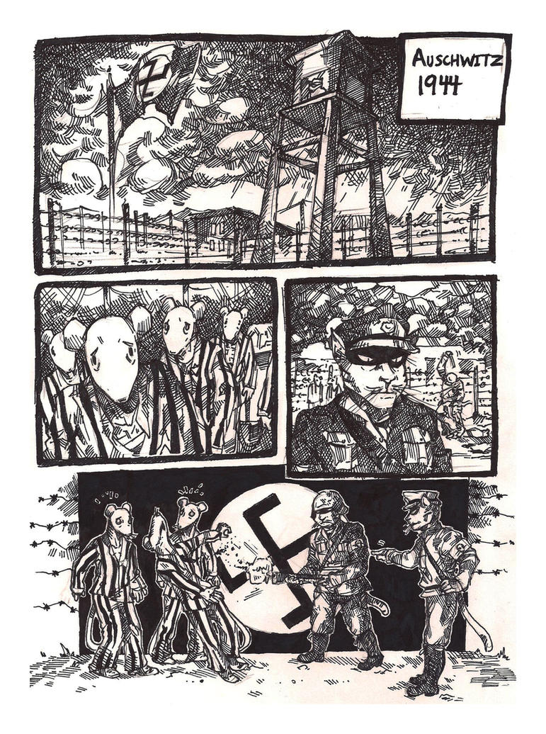a gripping story of the holocaust in art spiegelmans book titled maus