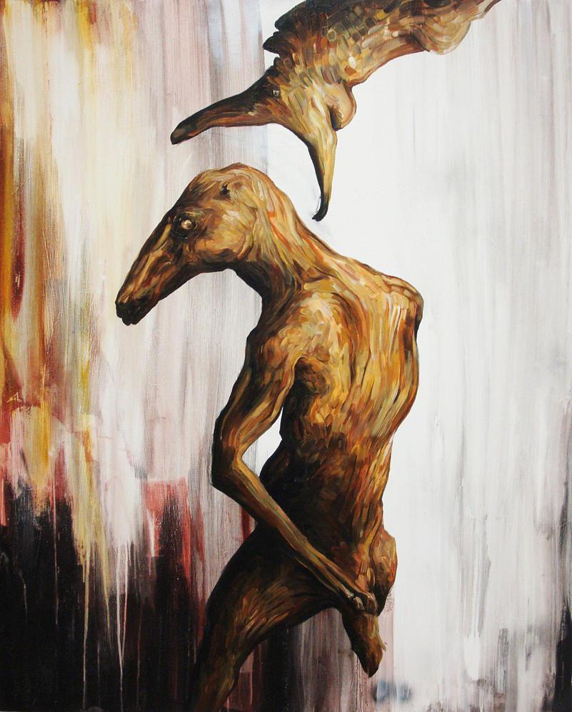 Lefty (Horn Lake Acrylic) by blackvragor