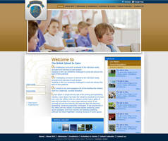 British School  website Design