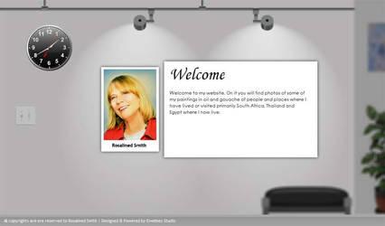 ewebbers studio Art website