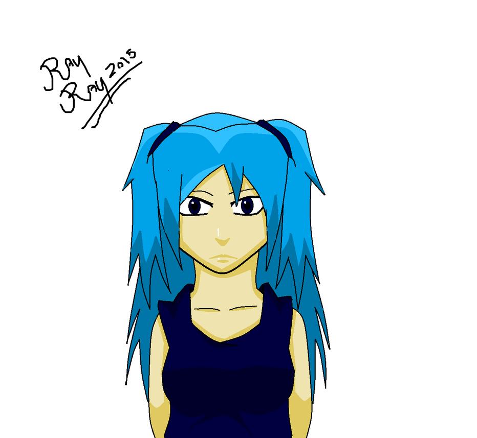 Lil blue by RayyRayy101