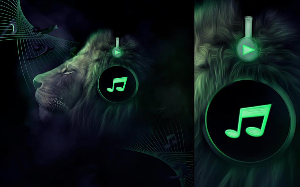 Jungle Beats Wallpaper by IleftHOMEforHOUSE