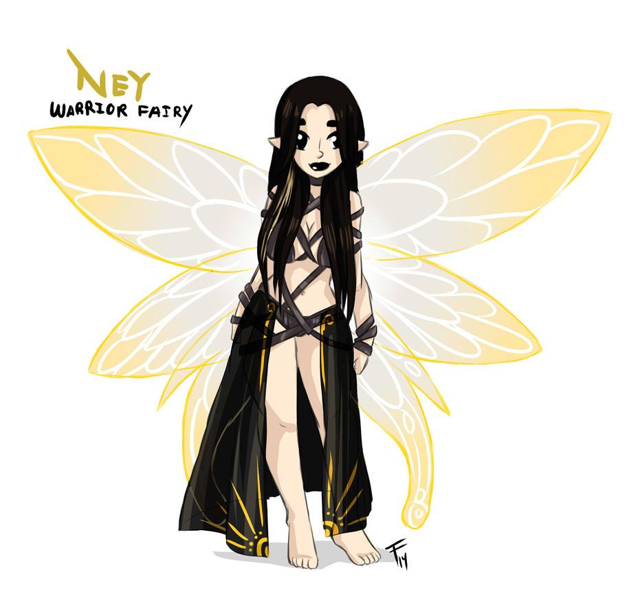 Ney Fairy warrior by KingofUndrock