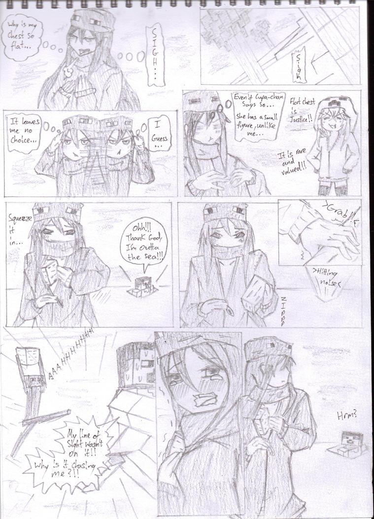 Minecraft Manga (Mob Talker Series) Story 2 by KgElitez