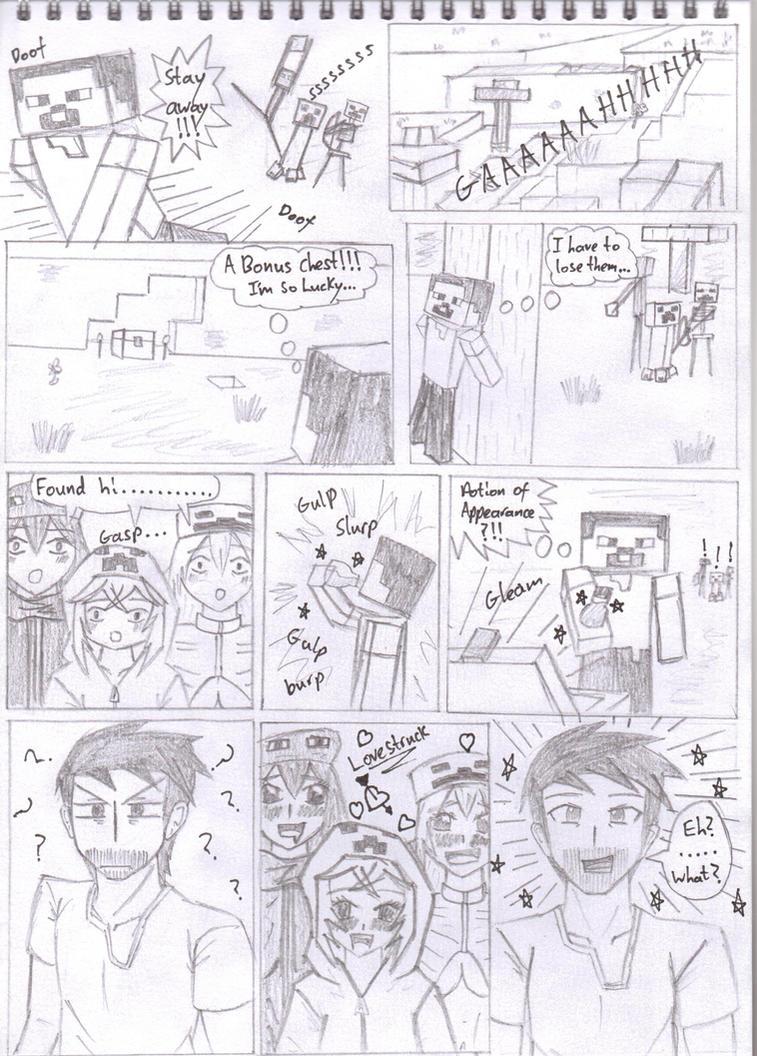 Minecraft Manga: Series 1 (Mob Talker Series) by KgElitez