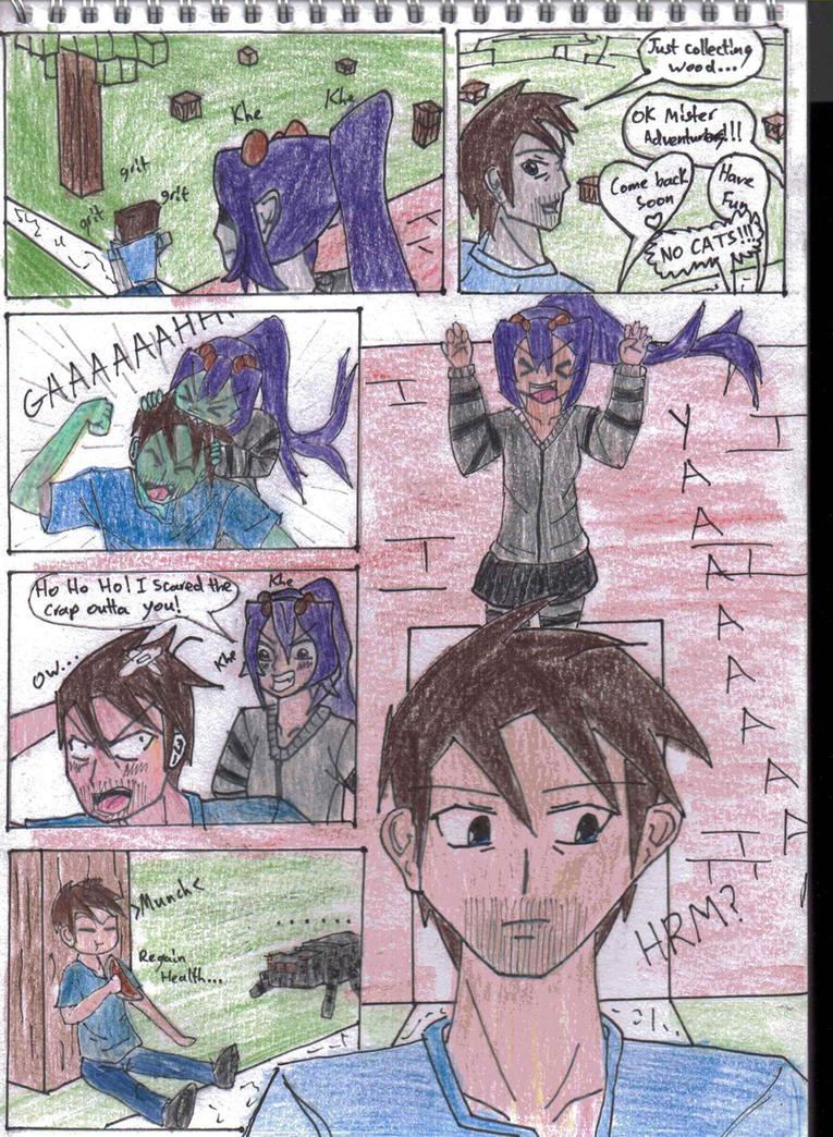 Minecraft Manga: Page 5 (Mob Talker Series) by KgElitez