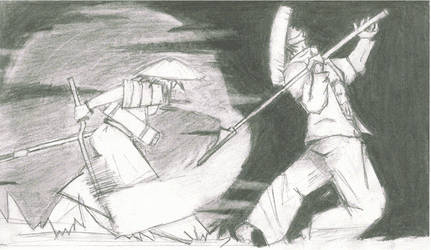 Ara goes samurai by lacan