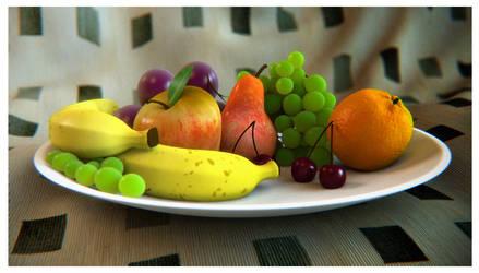 Fruit Bowl 2 by SpawnV2