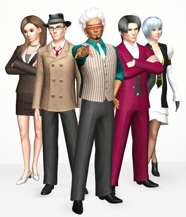 Recreating Aa Characters In Other Games Defendant S Lobby