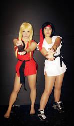 Ryu and Ken - sexy girls !