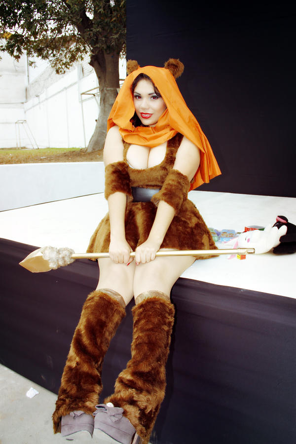 ewok girl by dashcosplay on deviantart