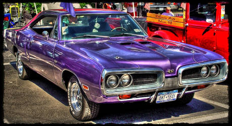 Dodge SuperBee HDR