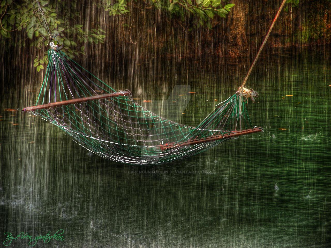 Rest in Rain HDR by evrengunturkun