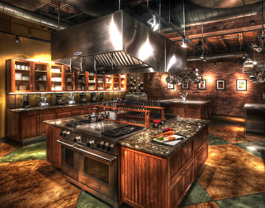 22 Jaw Dropping Small Kitchen Designs: HDR Kitchen [1024x806] : RoomPorn