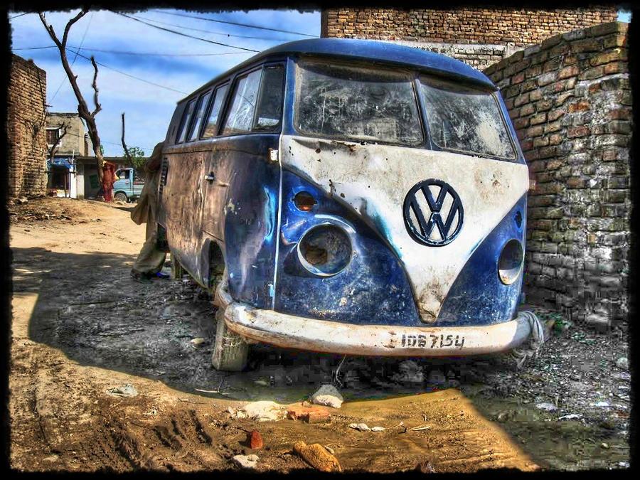 VW Bus HDR by evrengunturkun