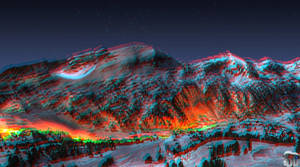 Fire in Ice 3DStereoscopicHDR